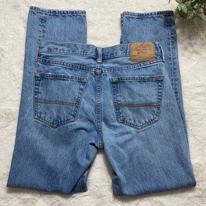Vintage A&F Button Fly Straight Leg Mom Jeans 29
